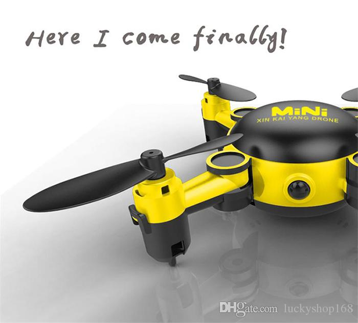 New Mini Professional RC Helicopter KY901 WiFi FPV RC Quadcopter Mini Dron Foldable Selfie Drone with HD wifi REAL TIME Camera RC toy