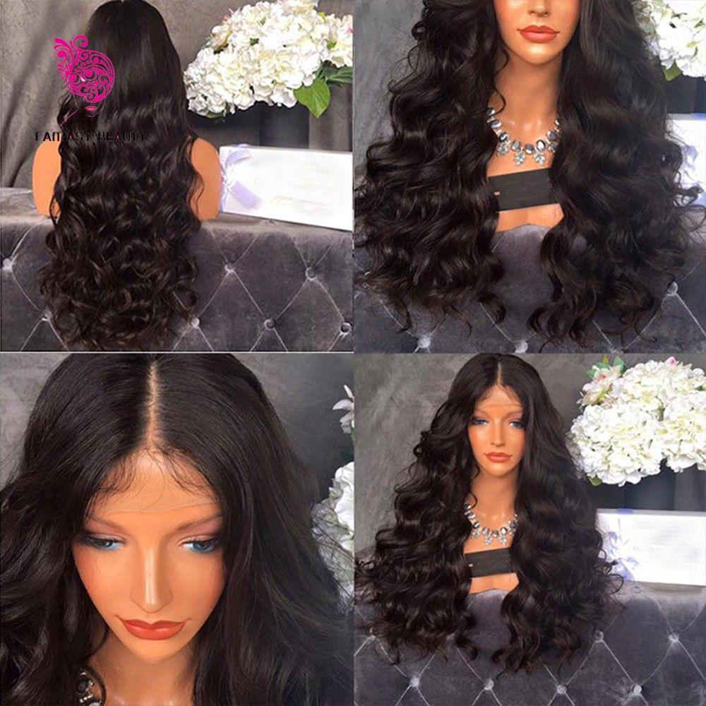150% Density Glueless Silk Top Full Lace Wigs Human Hair Silk Top Lace Front Body Wave Silk Top Lace Wigs For Black Women