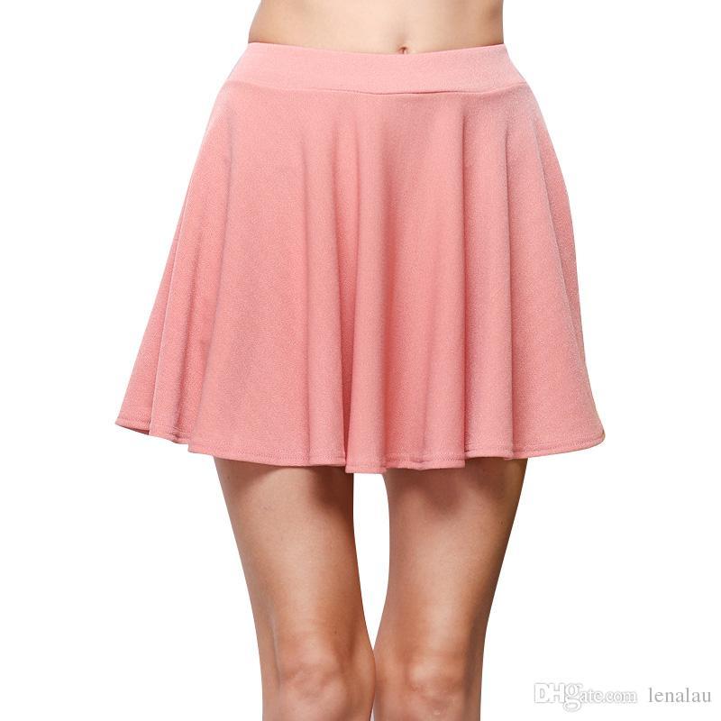 Sexy pink skirt