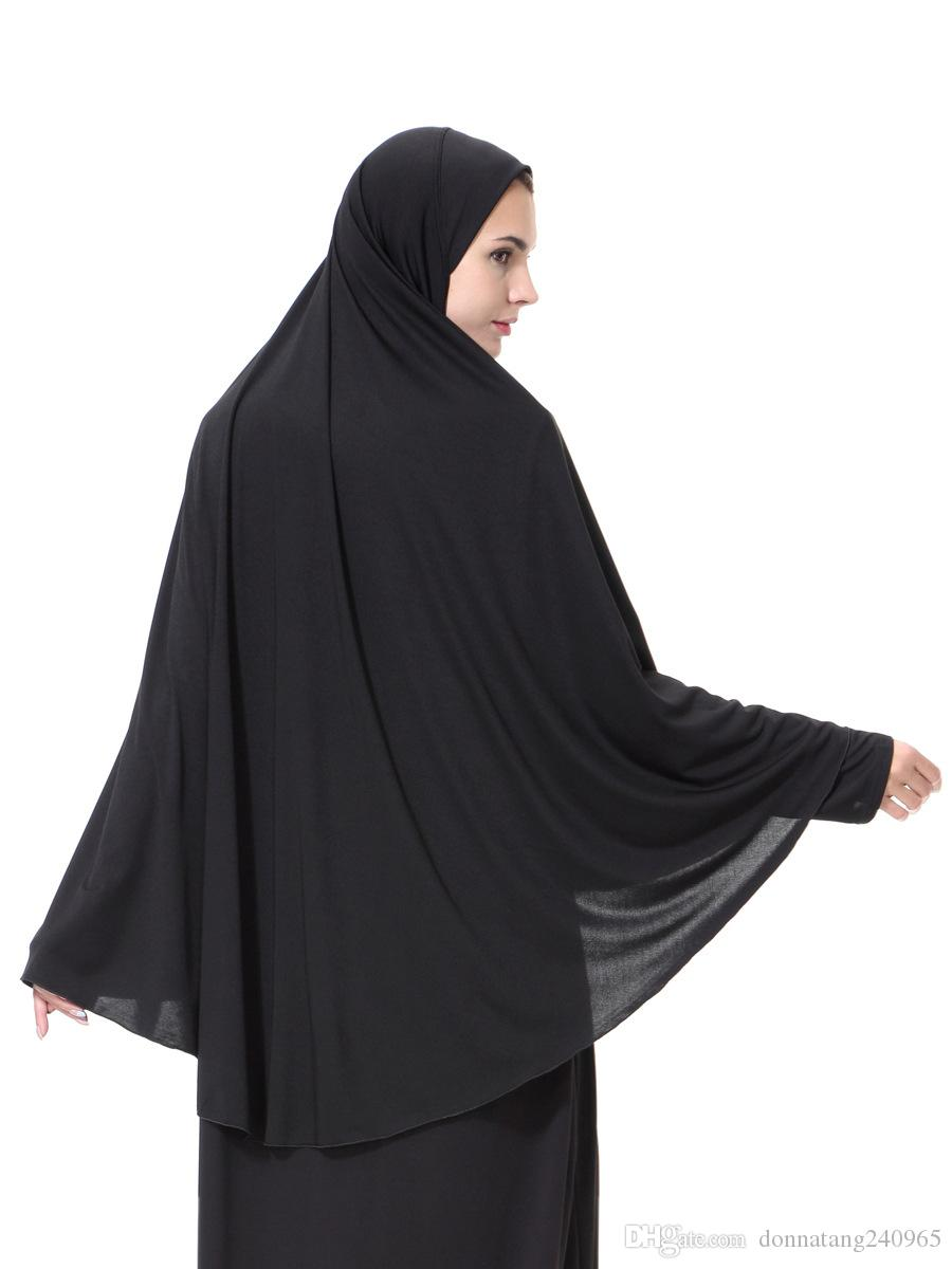 2017 new fashion long plain muslim hijab scarf muslim hijab caps islamic scarf women muslim headscarf