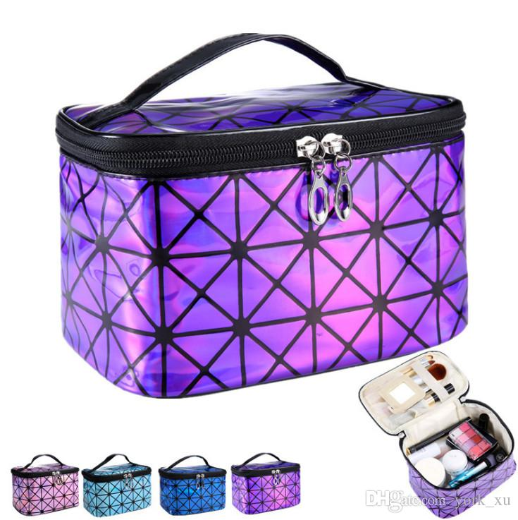 New Women Multi-function Travel Cosmetic Bag Makeup Case Pouch Toiletry Organizer for comping and outdoor out112