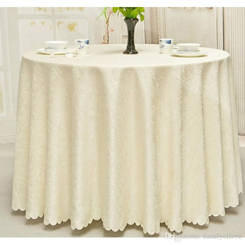New Luxurious Polyester Round Table Cloth Rectangular Tablecloth Hotel  Party Wedding Tablecloth Machine Washable Fabric Cloth Table  Linentablecloth ...