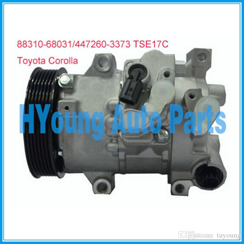 factory direct sale auto parts a c compressor for toyota corolla 1 8factory direct sale auto parts a c compressor for toyota corolla 1 8l 2011 2013 tse14c 447280 9060 88310 68031 447260 3373 air compressor prices air