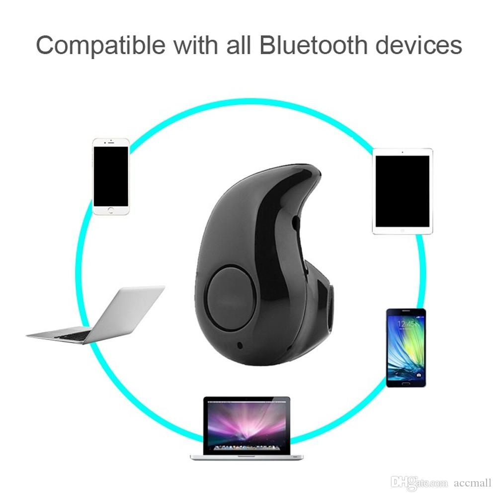 S530 Mini Wireless Bluetooth Earphone Headphone Stereo Headset With Microphone Fone De Ouvido Universal For iPhone Samsung
