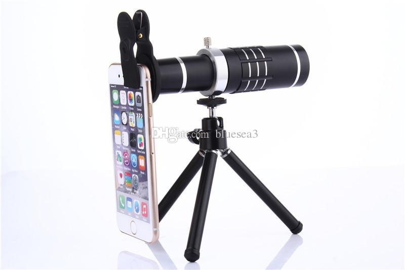 Best quality universal clip on 18x telephoto lens mobile phone