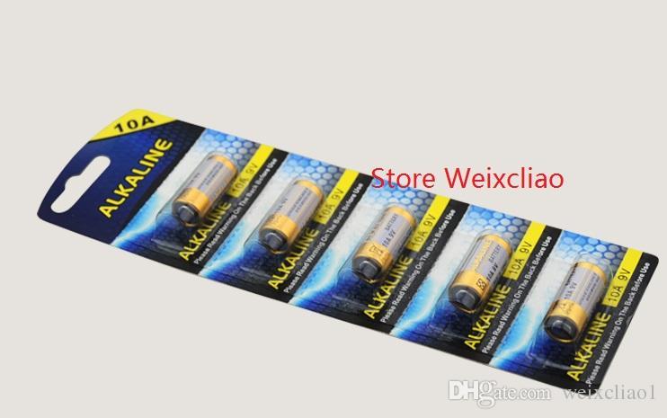1 10A 9V 10A9V 9V10A L1022 pile alcaline sèche Piles 9 Volts remplacent la carte A23L Livraison gratuite