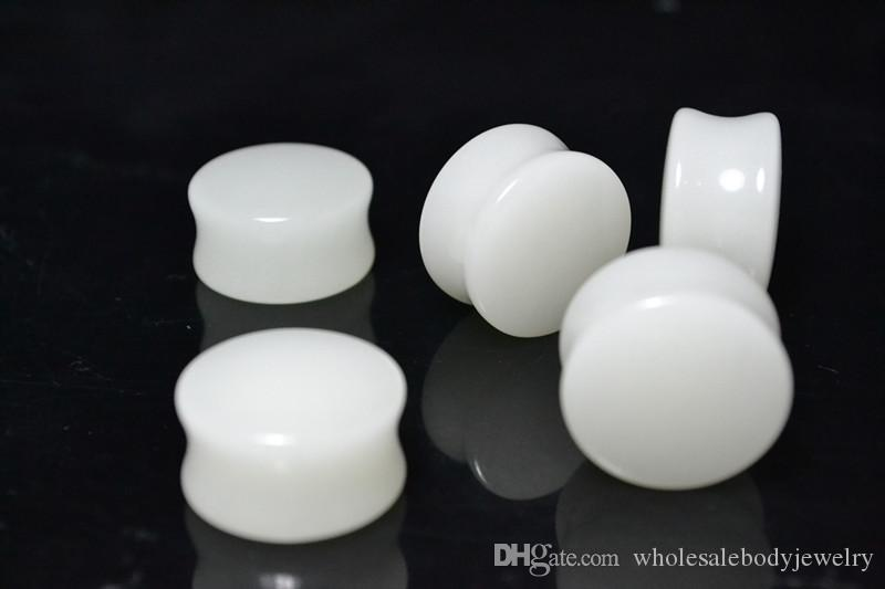 Acrylic Luminous Ear Gauges Tunnels Earlets Ear Plugs 2mm up to 20mm