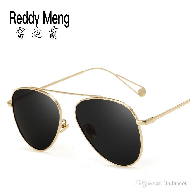 e8902fcf1368 Resin Lenses Titanium Metal Frame Slip Legs sunglasses for Men And ...
