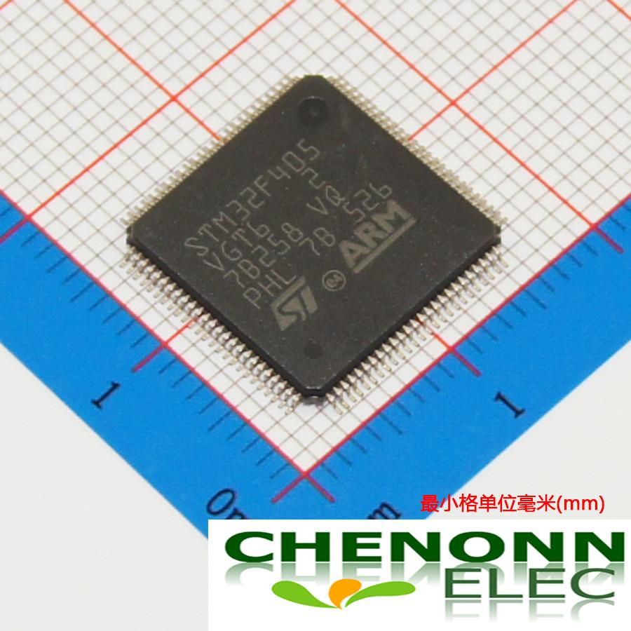 STM32F405VGT6/LQFP-100_14x14x0... 100% New Original Brand ST Best quality and competitive price fast delivery