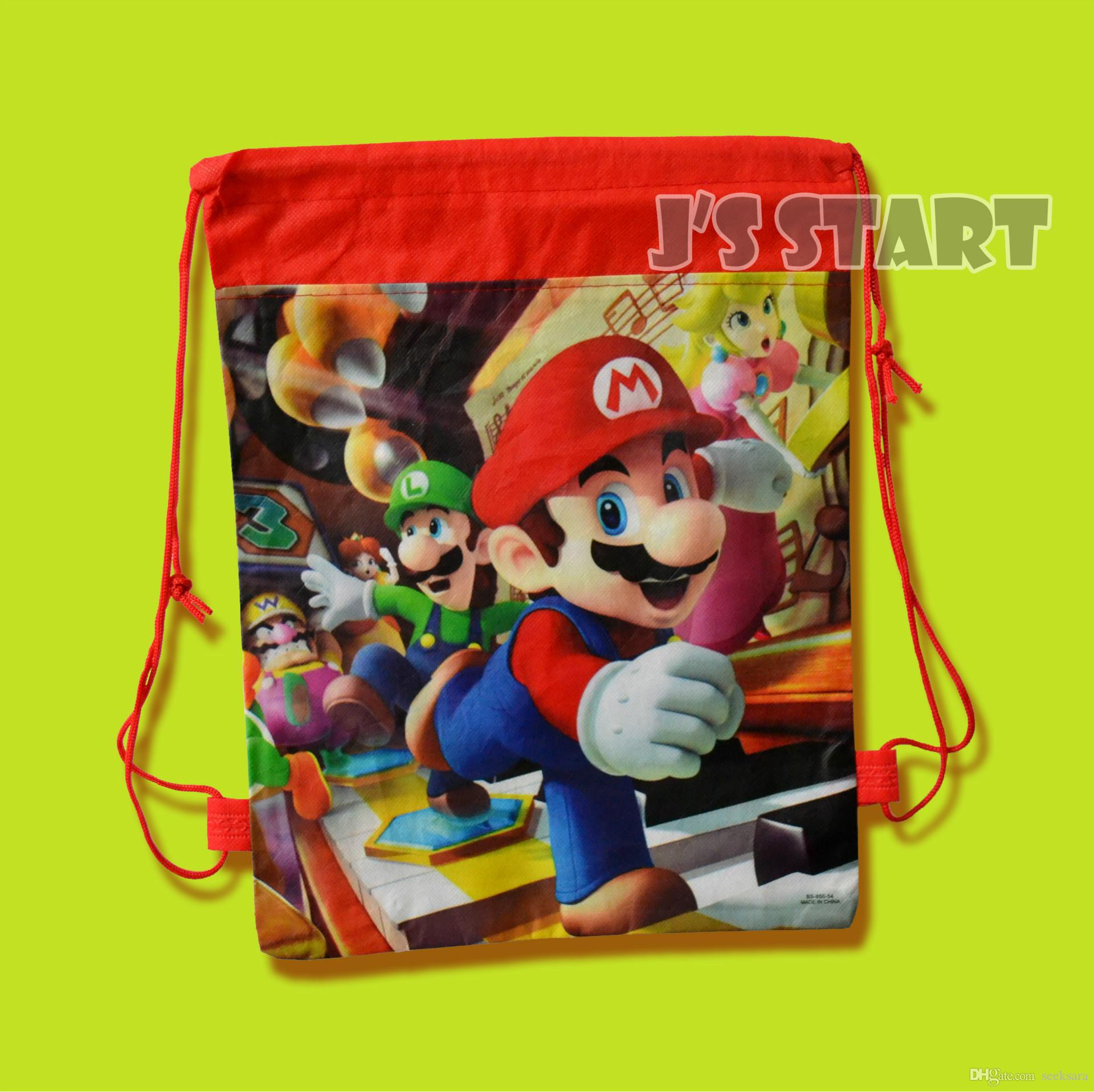 4 styles kids boys non woven fabric backpacks school bags super