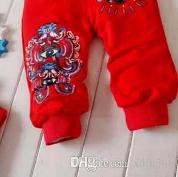 2017 New autumn Baby Clothing Sets suits fit 0-4years Round-neck Baby Shirt+Pants 100% Cotton Baby boys girls Tracksuits /DD
