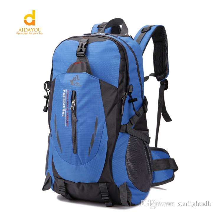 4bf748e7a9aa 2019 Outdoor Travel Big Bag 40L Leisure Sports Package Special Hiking  Shoulder Bag With Waterproof Able To Take Hammock And Sleeping Bed Bag111  From ...