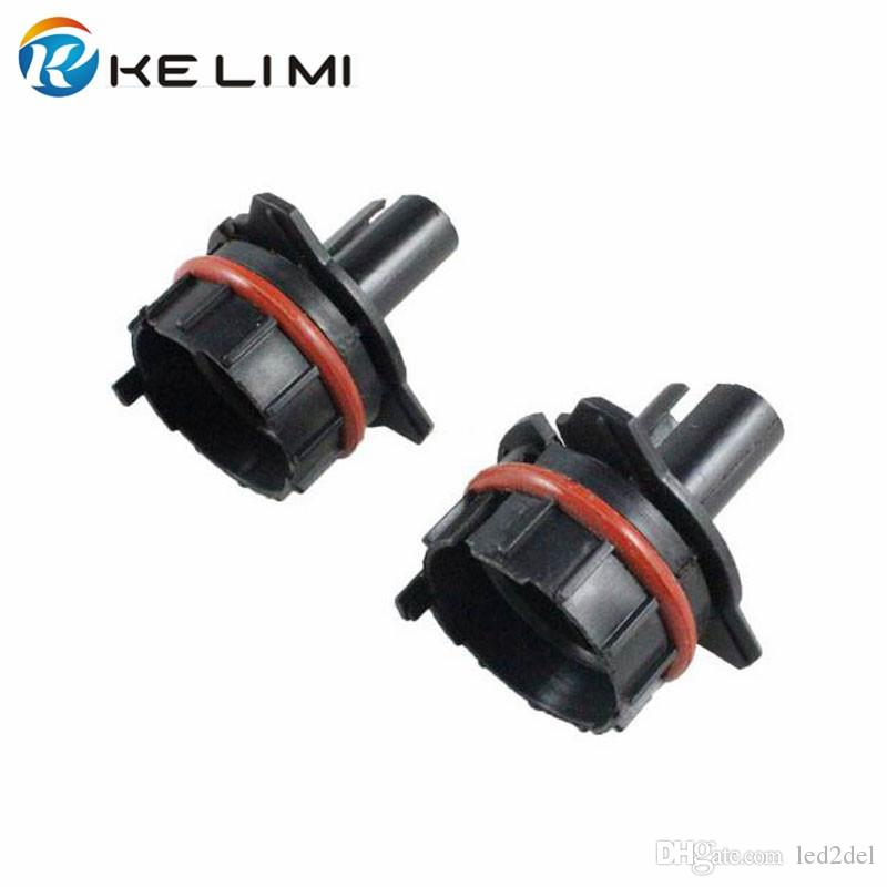 Vehicle Car headlight fog light hid conversion Kit Xenon H7 bulbholders base adapter for BMW 5-series E60 E39