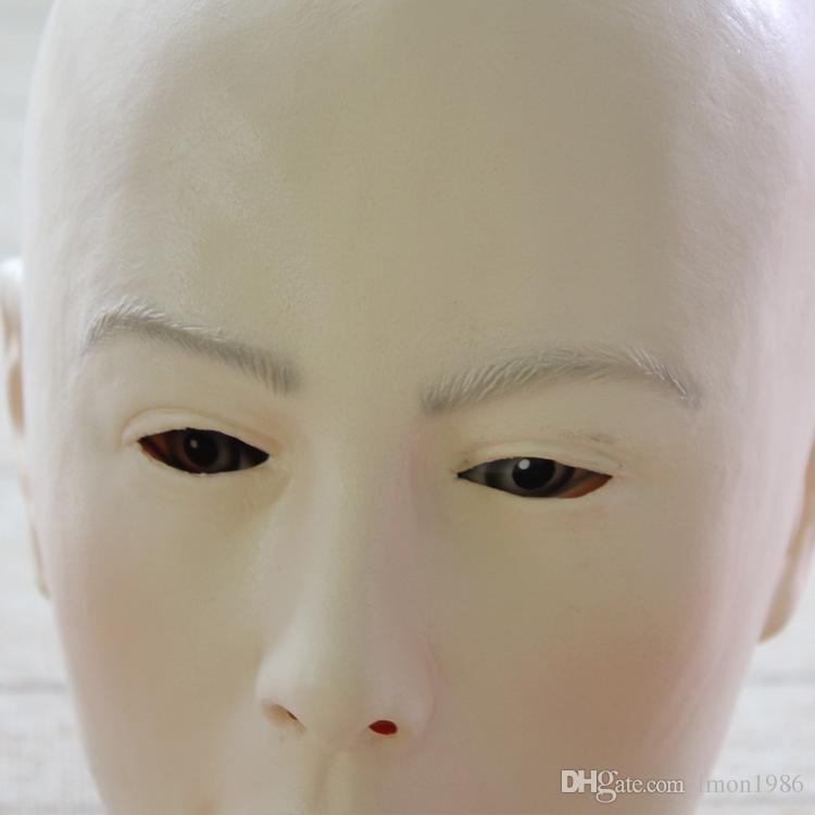 Máscaras de silicona de alta calidad de crossdresser, accesorios de película, mascarilla completa de halloween, mascarillas femeninas realistas, mascarada fiesta cosplay máscara de juguete