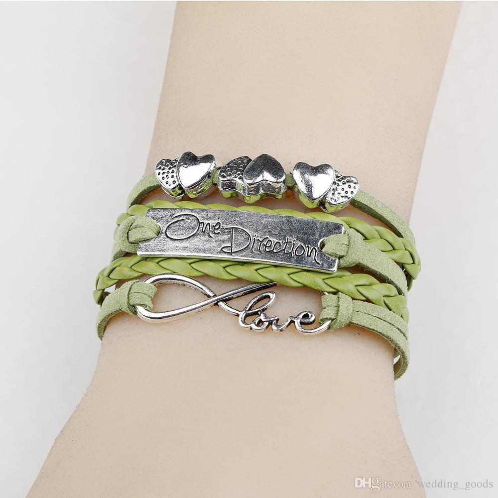 Хороший A ++ Handmade браслет плетеный DIY взрыва буквы 8 слов любовь LOVE браслет FB196 заказ смешивания 20 штук много браслеты Шарм