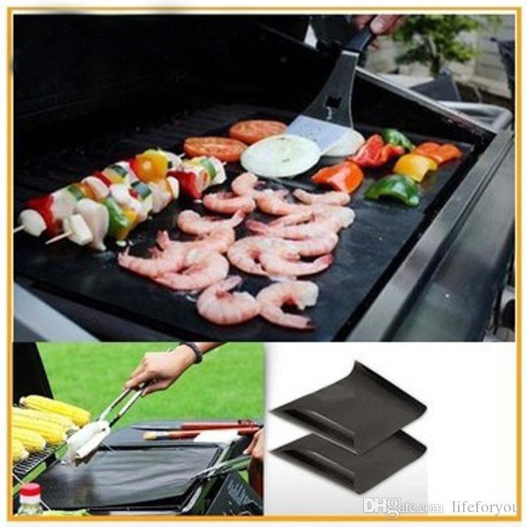 Tapis de silicone Accessoires pour outils de barbecue Tapis de cuisson pour cuisson Tapis de cuisson pour barbecue Tapis de barbecue antiadhésifs réutilisables 16