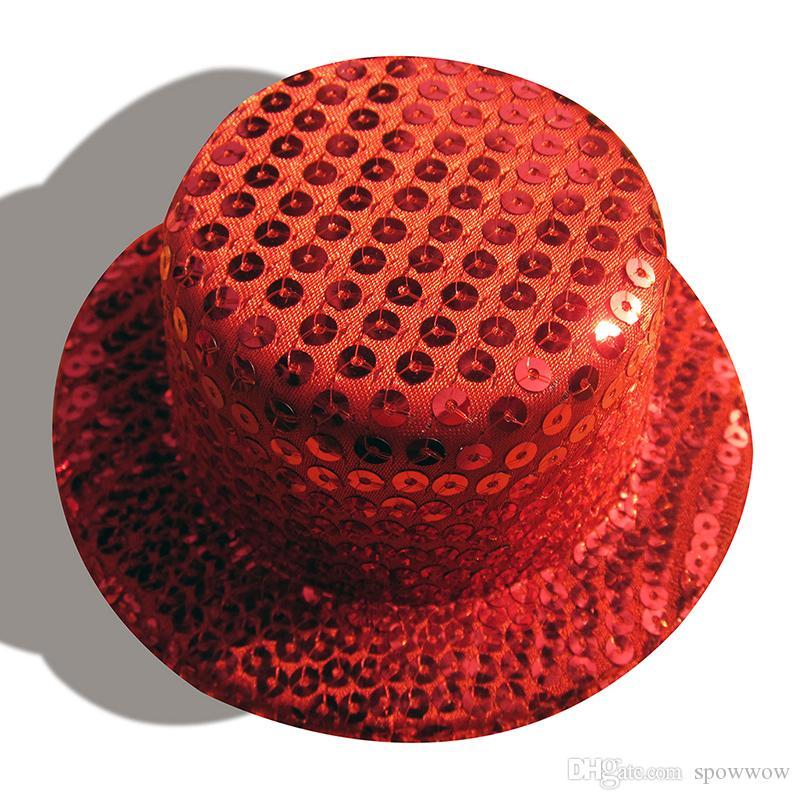 Sequin Millinery Base Mini Top Chapeaux Artisanat Bricolage Fabrication Dames Fascinator Alligator Clips 10 Couleurs Choisir A008