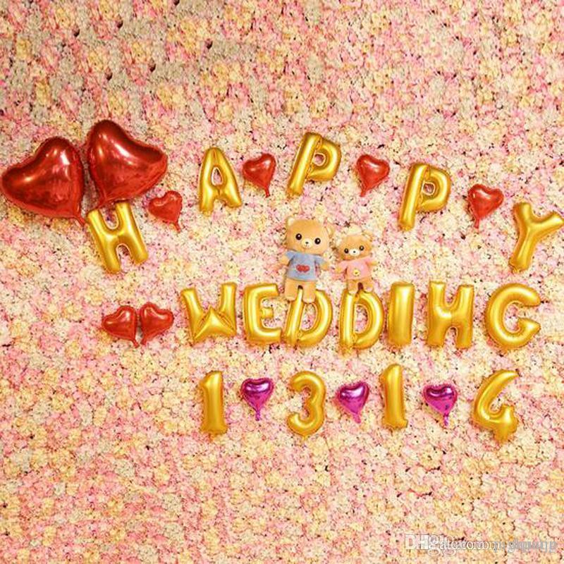 Party Wedding Decoration House Decoration Mylar Foil Balloon Air ...