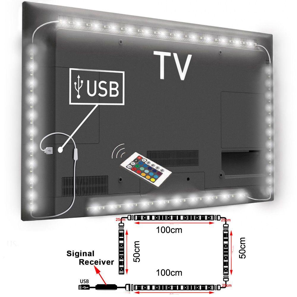 2018 Wholesale Usb Powered Rgb Colour Change 5050 Led Strip Lamp ...