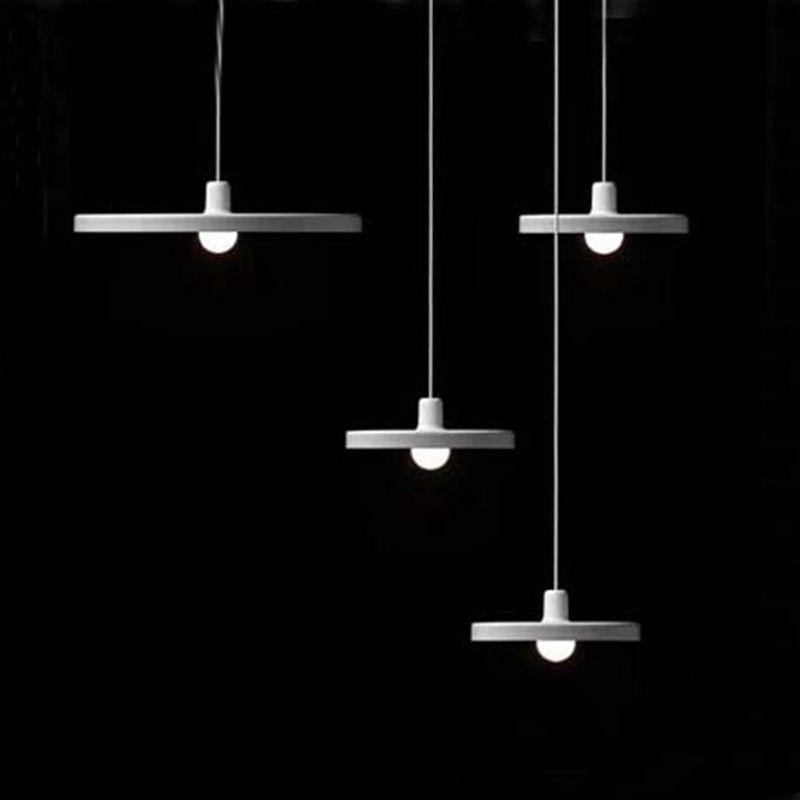 modern pendant lighting fixtures. discount modern nordic disc pendant lights white black ampshade turntable lamp hanging light fixtures luminaire lustres ceiling pendants lighting a