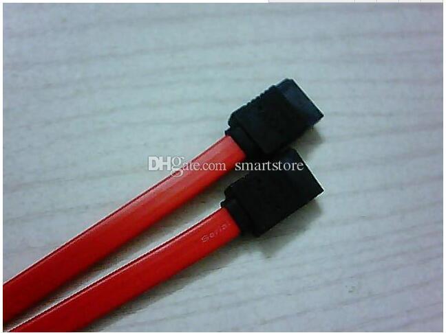 500 pz / lotto # 40 cm Rosso Seriale ATA SATA HDD Disco Rigido Cavo Dati HD Cavo Fino a 150 Mbps Spedizione Gratuita 0001