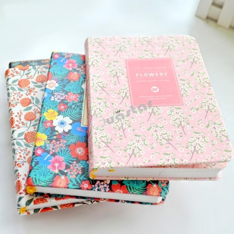 2019 wholesale cute flower planner notebook notepad weekly plan