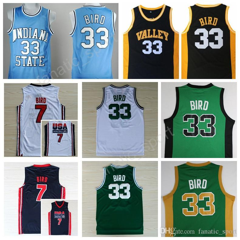 detailed pictures 2e855 a2c2c release date 33 larry bird jersey usa a743b 8da78