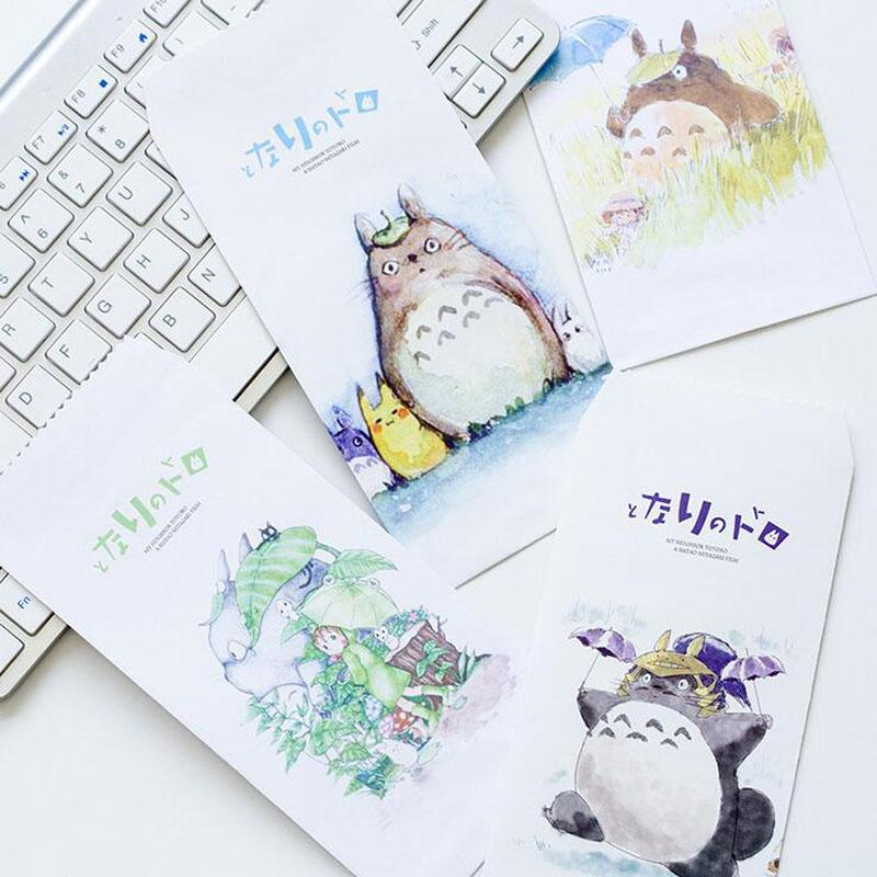 Best Wholesale 10x Kawaii Cute Totoro Letter Paper Message Card