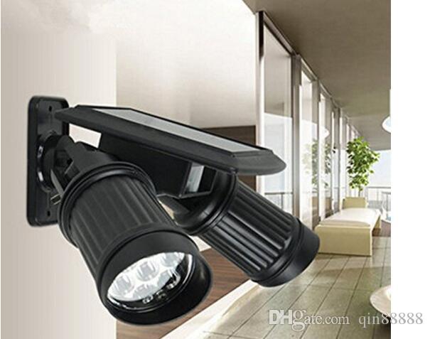 Luci solari, 14 LED sensore di luce esterna impermeabile solare Proposta di patio, ponte, cortile, giardino con Dusk to Dawn Auto On / Off