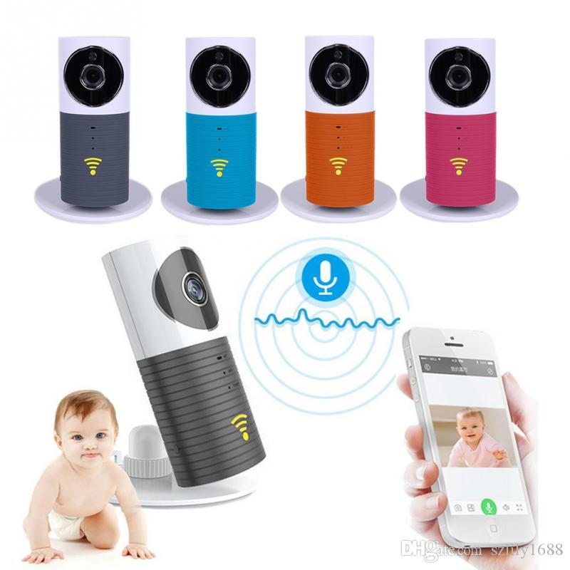 Wholesale 2017 night vision smart wireless monitor baby security monitoring audio video smart dog app supports iOS android 4.0 / above
