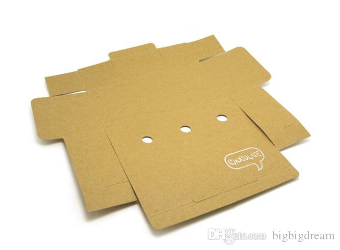Kraft Paper Cake Box Muffin Cookies Box pastry chocolate box wholesale ,cookies candy packaging