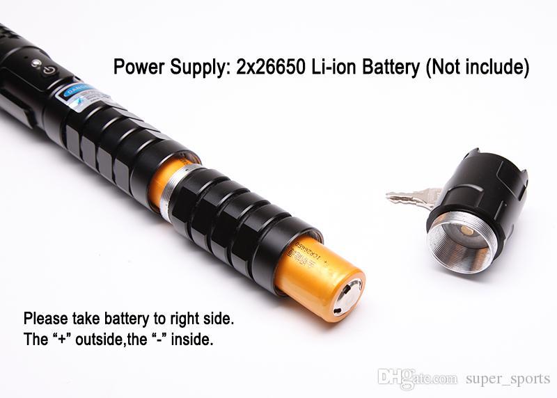 450nm forte de alta potência azul caneta ponteiro laser lanterna foco ajustável feixe de lazer tocha lazer focal frete grátis