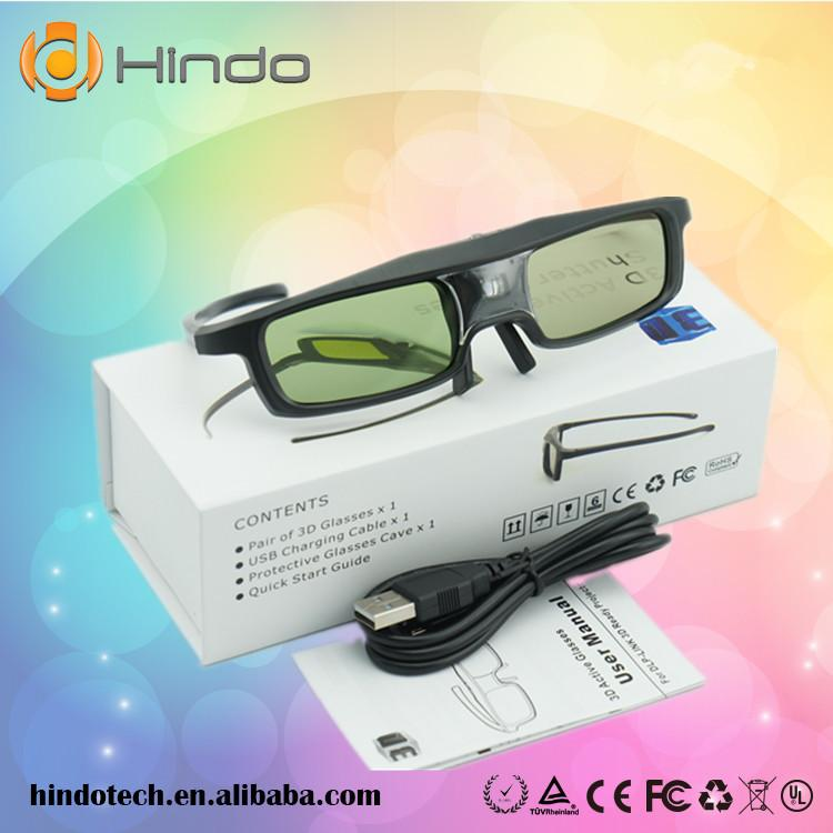 76e2437d8a Wholesale- CX30 3D Active Shutter Glasses For Optoma for LG for Acer ...
