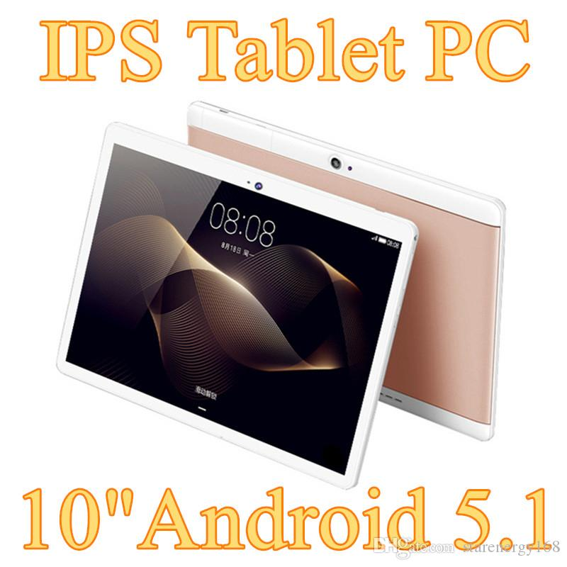 "20X DHL 10"" inch MTK6572 MTK6580 Qual Core 1.5Ghz Android 5.1 3G Phone Call tablet pc GPS bluetooth Wifi Dual Camera 1GB 16GB G-10PB"