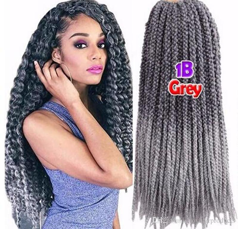 High quality 3d cubic twist crochet braids ombre grey color mambo high quality 3d cubic twist crochet braids ombre grey color mambo senegalese twist synthetic hair hair extensions crochet hair synthetic hair hair extension pmusecretfo Gallery