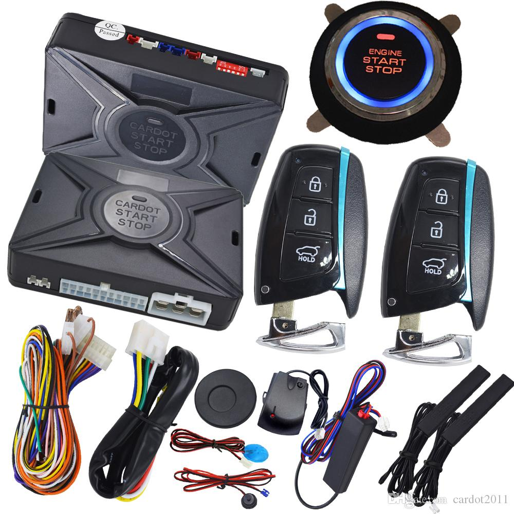2018 Smart Car Security System With Hopping Code Remote Protection ...