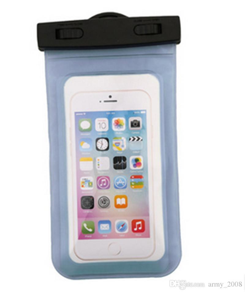 Для iphone 7 сухой мешок водонепроницаемый чехол универсальный прозрачный водонепроницаемый чехол под водой чехол подходит для всех смартфонов