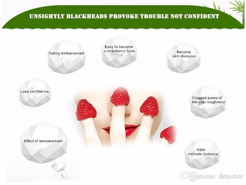 DOBERYL Black Head Mask Face Care Facial Blackhead Remover Nose Acne Treatments Deep Cleansing Mineral Mud EX Pore Strips Cleaner