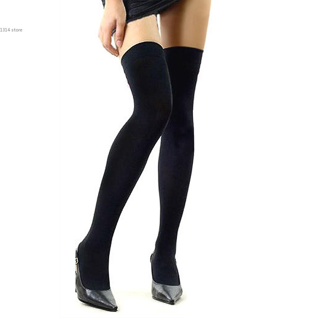 2018 wholesale hot sale fashion women's stockings over the knee