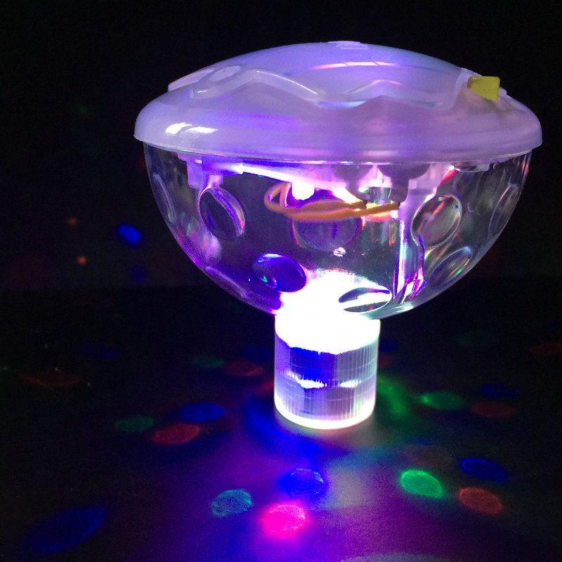 Acheter 5 Modes D Eclairage Flottant Sous Marine Led Disco Light