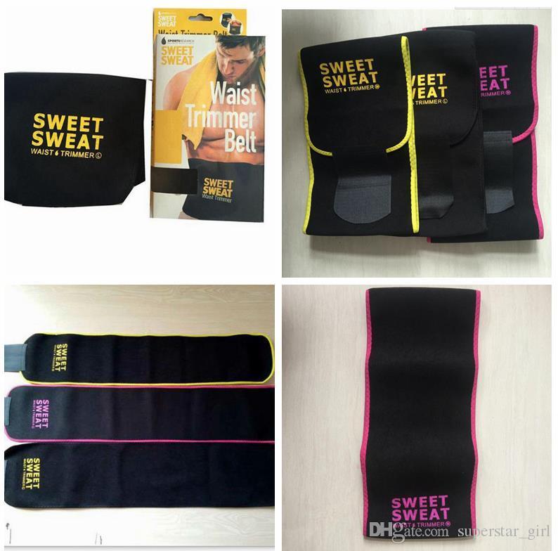 06307b351bd 2019 2017 Sweet Sweat Premium Waist Trimmer Men Women Belt Slimmer Exercise  Ab Waist Wrap With Retail Box C699 From Superstar girl