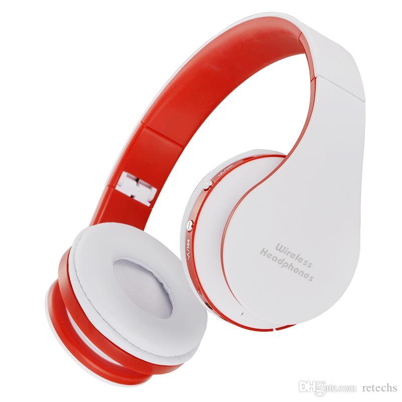 DVD의 MP3 휴대 전화에 대한 스테레오 NX-8252 전문 접이식 무선 블루투스 헤드폰 슈퍼 이펙트베이스 휴대용 헤드셋