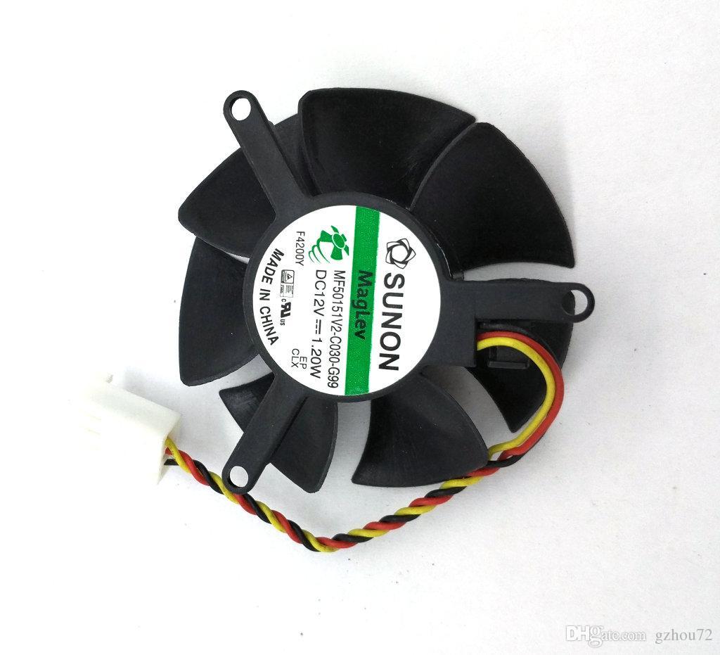 جديد الأصلي مروحة كمبيوتر محمول لديل xps one 2710 مروحة تبريد اللمس سونون MF50151V2-C030-G99 12 فولت 1.20 واط