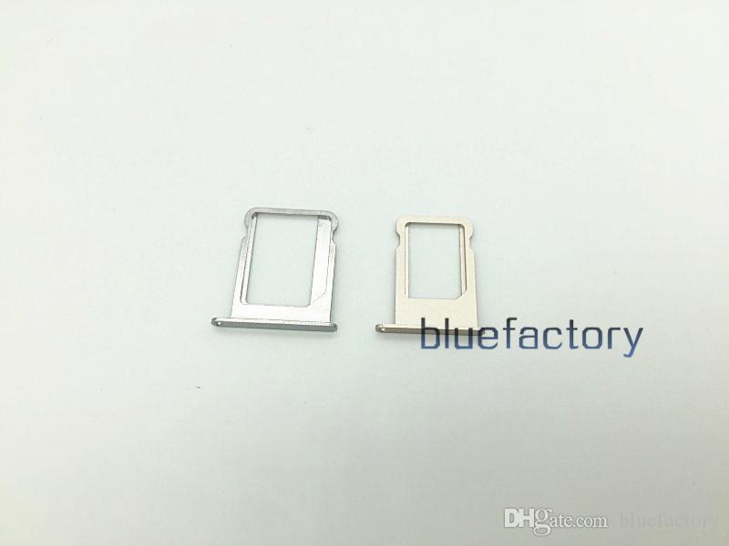 Para el iphone 5 Nano Sim ranura para tarjeta ranura portaplatos de reemplazo adaptador de ranura para tarjeta SIM para iphone 7 para iphone 6 más piezas de reparación