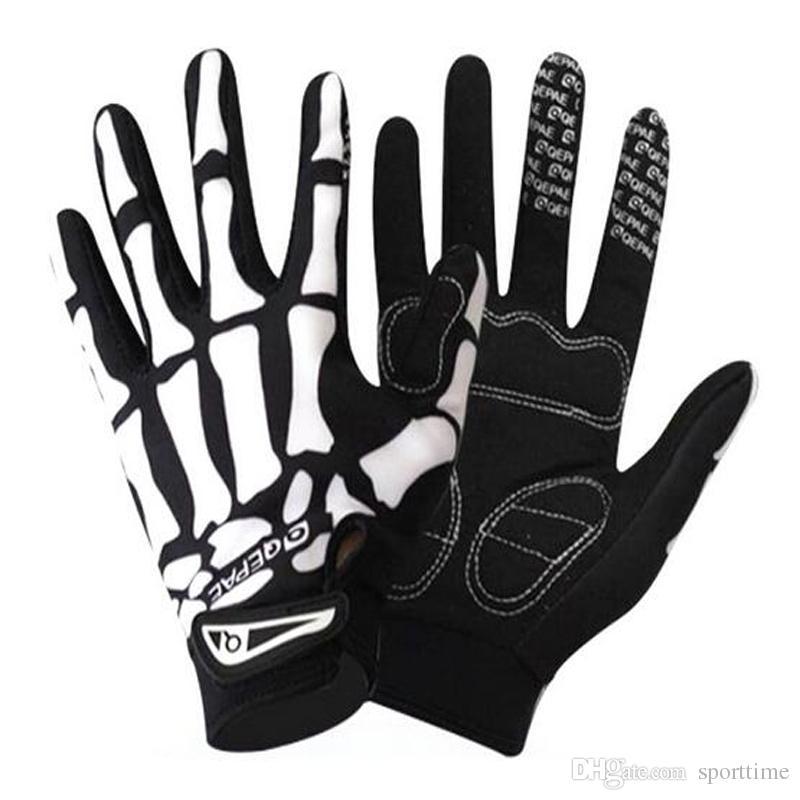 Heiß!!! Männer Fahrrad Reiten alle Finger Reiten Handschuhe Highway Mountainbike Körper voller Finger bezieht sich auf die Handschuhe
