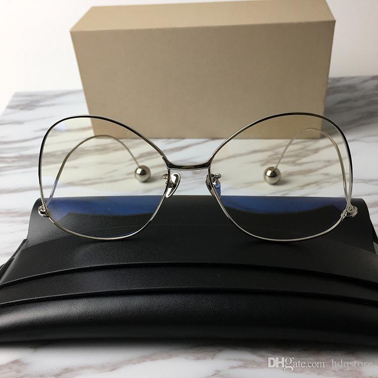 aba34a09e0 JINNNN Brand Designer Sunglasses Newest Popular Eyeglasses Transparent Lens  Alloy Glasses Optical Eye Glasses Frame For Women Men Original Prescription  ...
