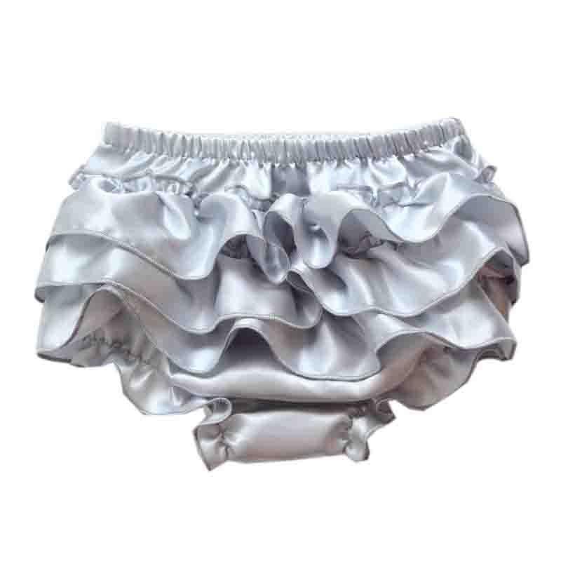 Baby Bloomers Girls Pettiskirt TUTU 속옷 팬티 유아 Kids Underpants 유아 신생아 Ruffled 새틴 PP 팬츠 Kids Cloth