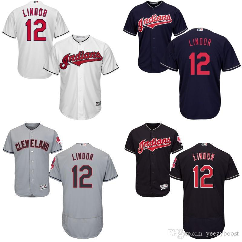 promo code f1c45 2e6e1 discount code for indians 12 francisco lindor white new cool ...