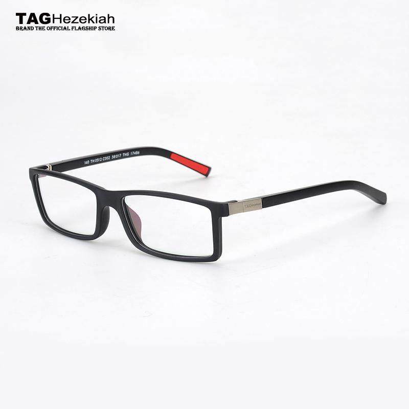 51ead416019 2019 Wholesale 2017 Retro Fashion Eyeglasses Frames Men Brand TAG Hezekiah  Sport Goggles Metal TH0512 Nerd Glasses Frame Memory Frame Women From  Value222