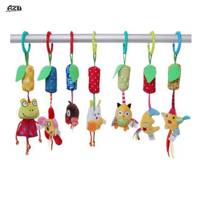 Säugling Rasseln Baby Spielzeug Rattles PlüschTier Kinderwagen Bett Glöckchen